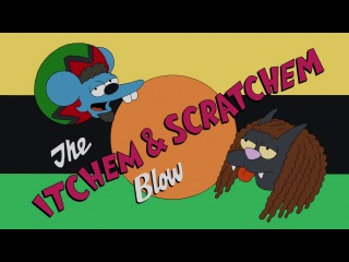 ����� ������� � ������� rasta Itchy and Scratchy